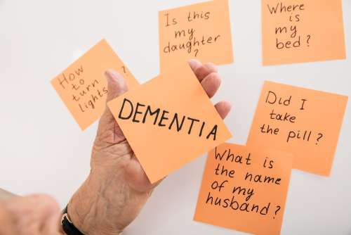 Dementia after the diagnosis