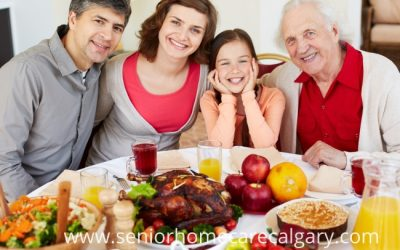 Thanksgiving With Your Elderly Loved Ones