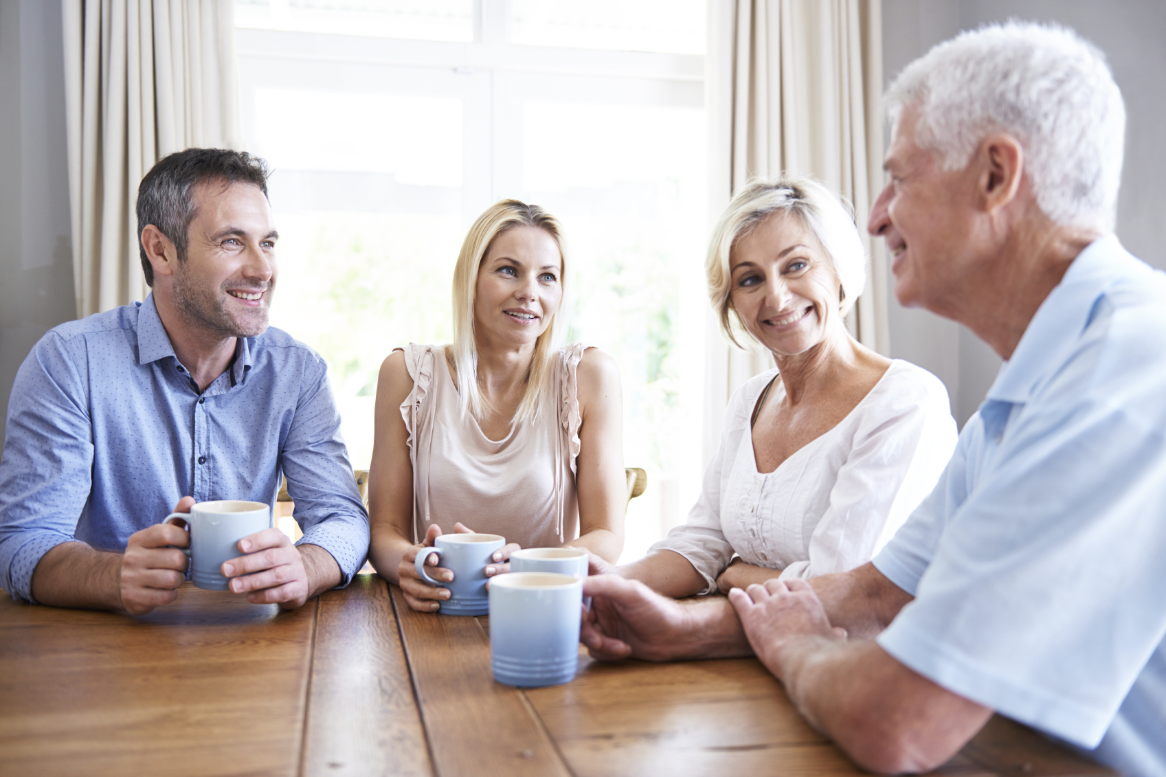 Discussion with aging parents, planning for the future to avoid a crisis.